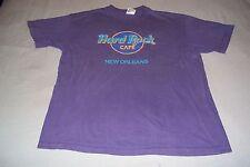 Hard Rock Cafe New Orleans T-Shirt Purple Mens Womens XL