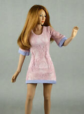 1/6 Phicen, Hot Toys, Kumik, Cy, Nouveau Toys - Sexy Female Lite Pink Lace Dress