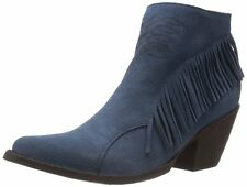 New in Box OG by Old Gringo Womens Nina Ankle Boot Blue Suede Size 7.5