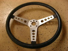 JDM GENUINE DATSUN MACH LEATHER STEERING WHEEL.240Z 260Z 280Z BRE OEM NISMO 432