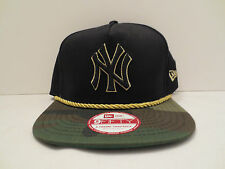 NEW ERA MLB NEW YORK YANKEES HIDDEN METALLIC CAMO A-FRAME SNAPBACK CAP HAT NWT