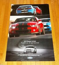 "NEW 2014 FORD MUSTANG COBRA SHELBY SVT GT500 24"" x 36"" DEALER ONLY POSTER!"