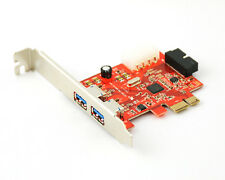 3 Port 2 + 1 USB 3.0 PCI Express Computer Card PC Karte Controller Hub Adapter