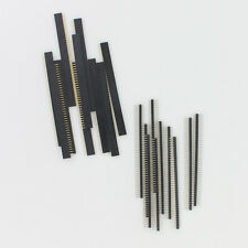 2.54mm 1X40 pin header Single row straight male + female For Arduino DIY 10 Pair