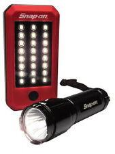 Snap-On Tools 24 LED 200 Lumen Work Light + 250 Lumen Tactical Flashlight! Cree