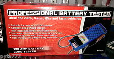 Professional Battery Tester for 6V/12V Lead Car Batteries