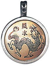 Chinese Dragon Magical Seal Pan K'uel Talisman for Good Health and Prosperity