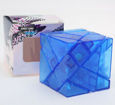 New Transparent Ghost Cube 3x3 Magic cube high difficult speed puzzle blue