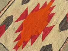 Navajo Native American Indian Rug ANTIQUE & BEAUTIFULLY WOVEN RESERVATION RUG!