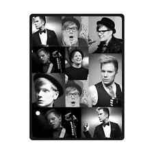 Custom Fall Out Boy Patrick Stump Bed/Sofa Soft Throw Blanket 58x80 Inch