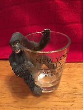 Vintage Souvenir Shot Glass ~ Empire State Building King Long