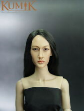 (HS) 1/6 Kumik KM-044 Maggie Q head sculpt (not Hot Toys) : Ready Stock