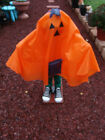 """HALLOWEEN 31"""" PUMPKIN GREETER SAYS SEVERAL PHRASES FREE SHIPPING"""