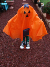 "HALLOWEEN 31"" PUMPKIN GREETER SAYS SEVERAL PHRASES FREE SHIPPING"