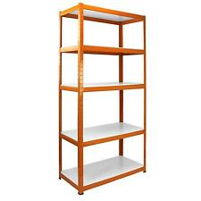 Metal Garage Shelving Water Resistant Laminated MDF Shelves Greenhouse Racking