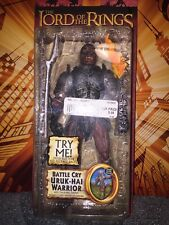 Lord of the Rings Battle Cry Uruk-Hai Warrior Figure (hard to find)