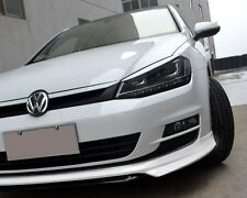 2015 2016 VW GOLF - DEEP BUMPER SPOILER LOWER LIP - MK7  TSi TDi - PAINTED WHITE