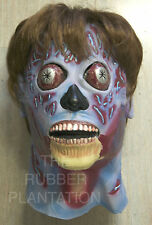 They Live Mask Halloween Alien Latex Full Head & Neck Fancy Dress Party Zombie
