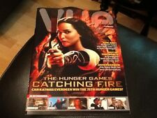 PROMOTIONAL VUE FILM MAGAZINE features THE HUNGER GAMES CATCHING FIRE / NOV 2013