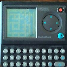 Radio Shack Electronic Crossword Puzzle Pocket Video Game #DD*
