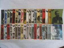 Lot of 38 CODA Canada's Jazz Magazines 1967-1996 Hard-to-Find!