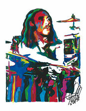 Bill Ward, Black Sabbath, Drummer, Drums, Heavy Metal, Music, 8.5x11 PRINT w/COA