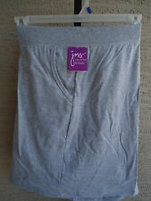 NWT  WOMENS JUST MY SIZE RELAXED FIT STRETCH WAIST POCKET SHORTS GRAY  5X