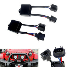 """H4 To H13 Anti-Flicker Decoder Kit For 7"""" Round LED Headlight of Jeep Wrangler"""