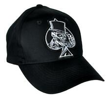 Ace of Spades Death Skull Hat Baseball Cap Alternative Clothing Motorhead Top