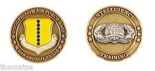GOODFELLOW AIR FORCE BASE INTELLIGENCE TRAINING CHALLENGE COIN