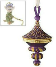 DOPEY HINGED TURRET CHRISTMAS ORNAMENT NIB 2006 SNOW WHITE Swarovski Crystals