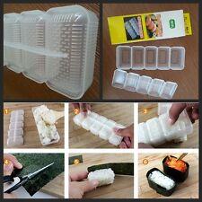 Japan Made Sushi Maker Rice Ball 5 Rolls Nigiri Mould Roller Bento Mold sdd