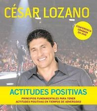 Actitudes Positivas Conferencia Grabada En Vivo Audio CD Spanish Edition