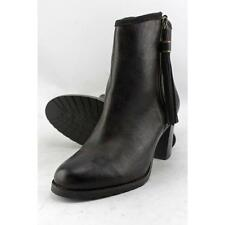 Lauren Ralph Lauren Carah Women US 7.5 Black Ankle Boot Blemish  15112