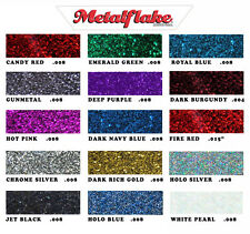 30GRAMS 'ANY 1 COLOUR' METAL FLAKE CUSTOM AUTO GLITTER METALLIC PAINT ESG