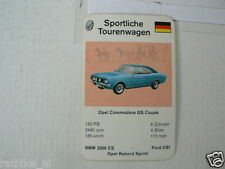 62-SPORTWAGEN/RENNWAGEN TOURENWAGEN OPEL COMMODORE GS COUPE