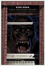 KING KONG Laurent DURIEUX Variant limited edition print 175 MONDO VERY RARE