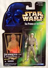 Star Wars - POTF - Luke Skywalker in Hoth Gear - Green Card - New - MOC