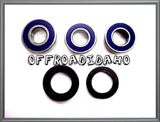 REAR WHEEL AXLE BEARING SEAL KIT SUZUKI DRZ400SM SUPER MOTARD 2013 2014 DR-Z400