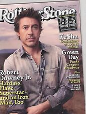 MAY 13 2010 ROLLING STONE music magazine ROBERT DOWNEY JR