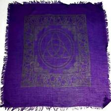 """Triquetra Altar/Tarot Cloth - 18""""x18"""""""