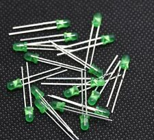 500PCS Diffused LED 3MM GREEN COLOR GREEN LIGHT Super Bright