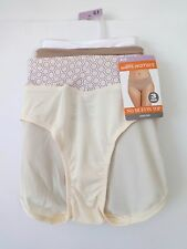 WOMENS WARNERS BLISSFUL BENEFITS HIPSTER PANTIES 8/XL~NO MUFFIN TOP! 3 PAIR