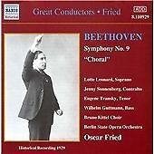 Symphony No.9/oskar Fried CD NEW