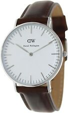 Daniel Wellington Women's St. Andrews 0607DW Brown Leather Quartz Watch