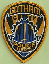 GOTHAM CITY POLICE PATCH BATMAN