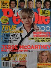 JESSE McCARTNEY May 2005 TEEN PEOPLE Magazine JESSICA SIMPSON  JOHNNY DEPP USHER