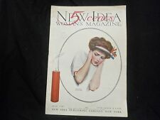 1909 JULY NEW IDEA WOMAN'S MAGAZINE - GREAT COVER & ADS - ST 1087