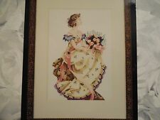 "NEW Mirabilia Cross Stitch Chart ""Spring  Queen"" MD-34 Nora Corbett"