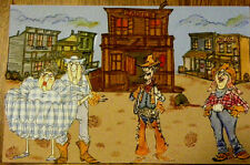 SALOON STORE WESTERN TOWN  L@@K @ example   ART IMPRESSIONS RUBBER STAMPS